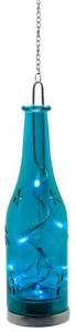 "LT049 Светодиодная фигура Feron на батарейках ""Бутылка"" голубая"