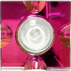 C2037СТ, светильник потолочный, MR16 G5.3 с многоцветным стеклом, хром