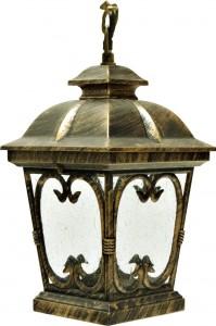PL133, светильник садово-парковый, 100W 230V E27 черное золото