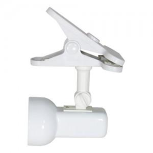 Светильник настенный, R50 Е14 с выключателем, белый, 1638Т