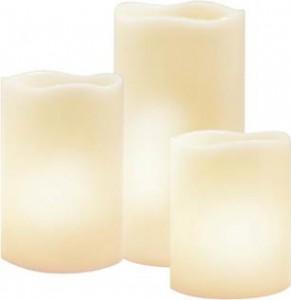 FL070, комплект круглых светодиодных свечей
