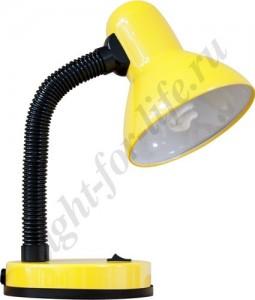 DE1415, настольная лампа, ESB 9W 230V E27 желтый с лампой