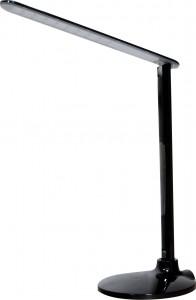 DE1713, Светильник настольный, 27LED 10W, c проводом 140 см, черный