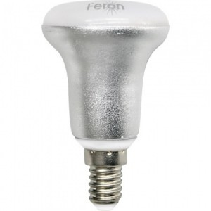 LB-500, лампа светодиодная, 4LED(4W) 230V E14 4000K 84*50mm R50
