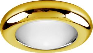 DL206, светильник потолочный, MR16 G5.3 с матовым стеклом, золото
