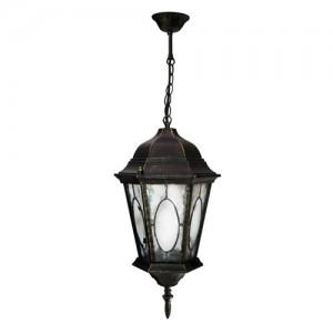 PL164, светильник садово-парковый, 60W 230V E27 черное золото
