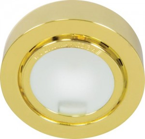А012N, светильник мебельный, JC G4.0 золото