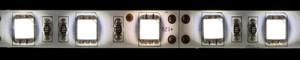 LS607, светодиодная лента влагозащищенная, цвет свечения: white-mix (2белых+1теплый белый), 5m, 7.2W/m