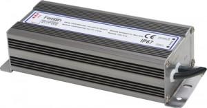 LB007 Трансформатор электронный для светодиодной ленты 100W 12V 200*68*45mm IP67 (драйвер)б/л
