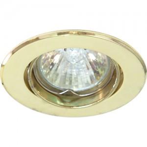 DL110, светильник потолочный, MR11 G4.0 золото
