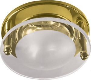 1787, светильник потолочный, R50 E14 со стеклом, золото