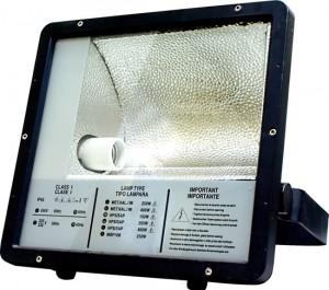 SPO11, прожектор металлогалогенный  c пускателем, 250W 230V E40