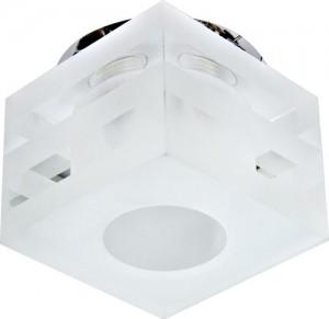 C1006MO, светильник потолочный, G9 35W  с матовым стеклом, хром