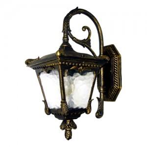 9003QS, светильник садово-парковый, 60W 230V E27 черное золото