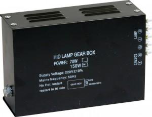 GB150 150W MHB/G12/R7s 230V электромагнитный ПРА пластик