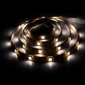 LS607, светодиодная лента влагозащищенная, цвет свечения: холодный белый, 5m, 7.2W/m
