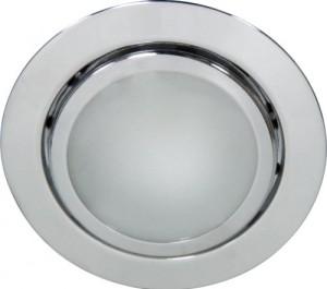 А014, светильник мебельный, JC G4.0 хром, с лампой