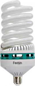 ELS64, лампа энергосберегающая, 55W 230V E27 4000K спираль