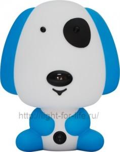 DE1601, светильник для детской, голубая собачка