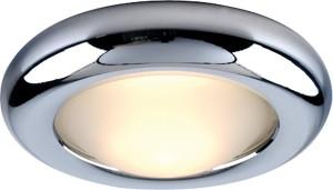 DL206, светильник потолочный, MR16 G5.3 с матовым стеклом, хром