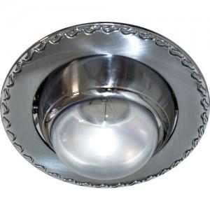 125-R39, светильник потолочный, R39 E14 матовый хром-хром