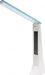 DE1710, Светильник настольный, 16LED 1,8W, с USB проводом для подзарядки 100см, голубой