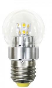 LB-40, лампа светодиодная, 12LED(4,5W) 230V E27 2700K