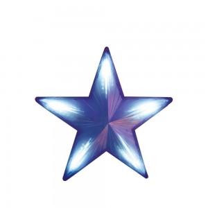 "LT030 Фигура светодиодная ""звезда"" синяя"