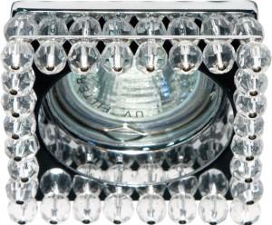 CD2131, светильник потолочный, MR16 G5.3 с прозрачным стеклом, хром