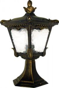 2003S, светильник садово-парковый, 60W 230V E27 черное золото