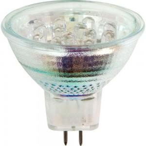 "JCDR-12LED, лампа светодиодная, 12LED 1W 230V G5.3 многоцветная, ""быстрая смена цвета"""