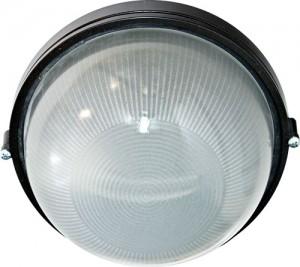 НПО11-100-01, светильник пылевлагозащищенный накладной, 230V Е27, черный