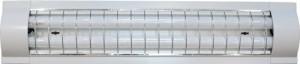 CAB5S/TL3017S, светильник люминесцентный, 2*18W T8 с решеткой, белый