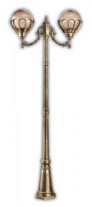 PL5048, столб 2,2м, 2 фонаря, 600*230*2200мм