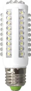 """LB-87, лампа светодиодная,  66LED(4W) 230V E27 2700K  110*38mm """"кукуруза"""""""