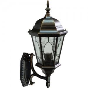 PL150, светильник садово-парковый, 60W 230V E27 черное золото