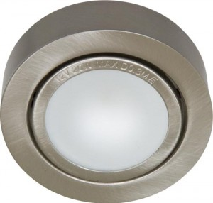 А012N, светильник мебельный, JC G4.0 титан, с лампой
