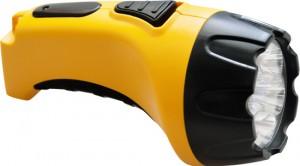 TH2294 (TH93B) 7 LED аккум.фонарь DC желтый