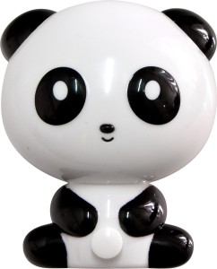 "FN1166, светильник-ночник ""панда"",  4LED 1W 230V  черный"