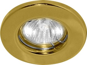 DL10, светильник потолочный, MR16 G5.3 золото