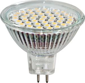 LB-24, лампа светодиодная, 44LED(3W) 230V G5.3 6400K