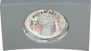 DL5A, светильник потолочный встраиваемый, MR16  12V G5.3 хром