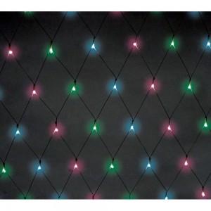 CL117 Гирлянда светодиодная сеть многоцветная, (RGB), 2х0.45м