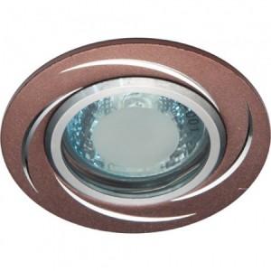 GS-M362BR, светильник потолочный, MR16 50W G5.3 коричневый