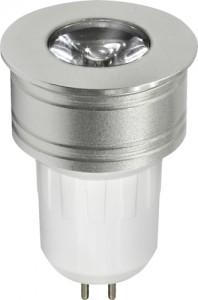 LB-107, лампа светодиодная, 1LED(1W) 230V G5.3 6400K