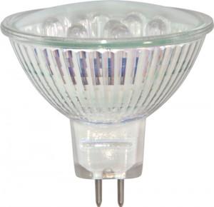 "MR16-12LED, лампа светодиодная, 12LED 12V G5.3 многоцветная, ""быстрая смена цвета"""