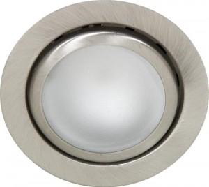 А014, светильник мебельный, JC G4.0 титан, с лампой