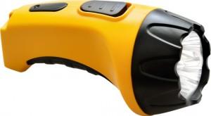 TH2293 (TH93A) 4 LED аккум.фонарь DC желтый