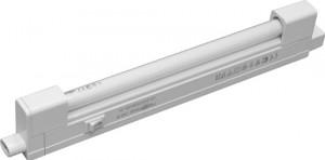 CAB1B, светильник люминесцентный, 8W T4 с лампой,  белый