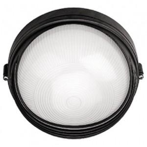 НПО11-100-03, светильник пылевлагозащищенный накладной, 230V Е27, черный